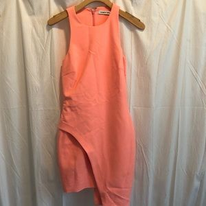 Elizabeth&James: Aaron asymmetric cady mini dress